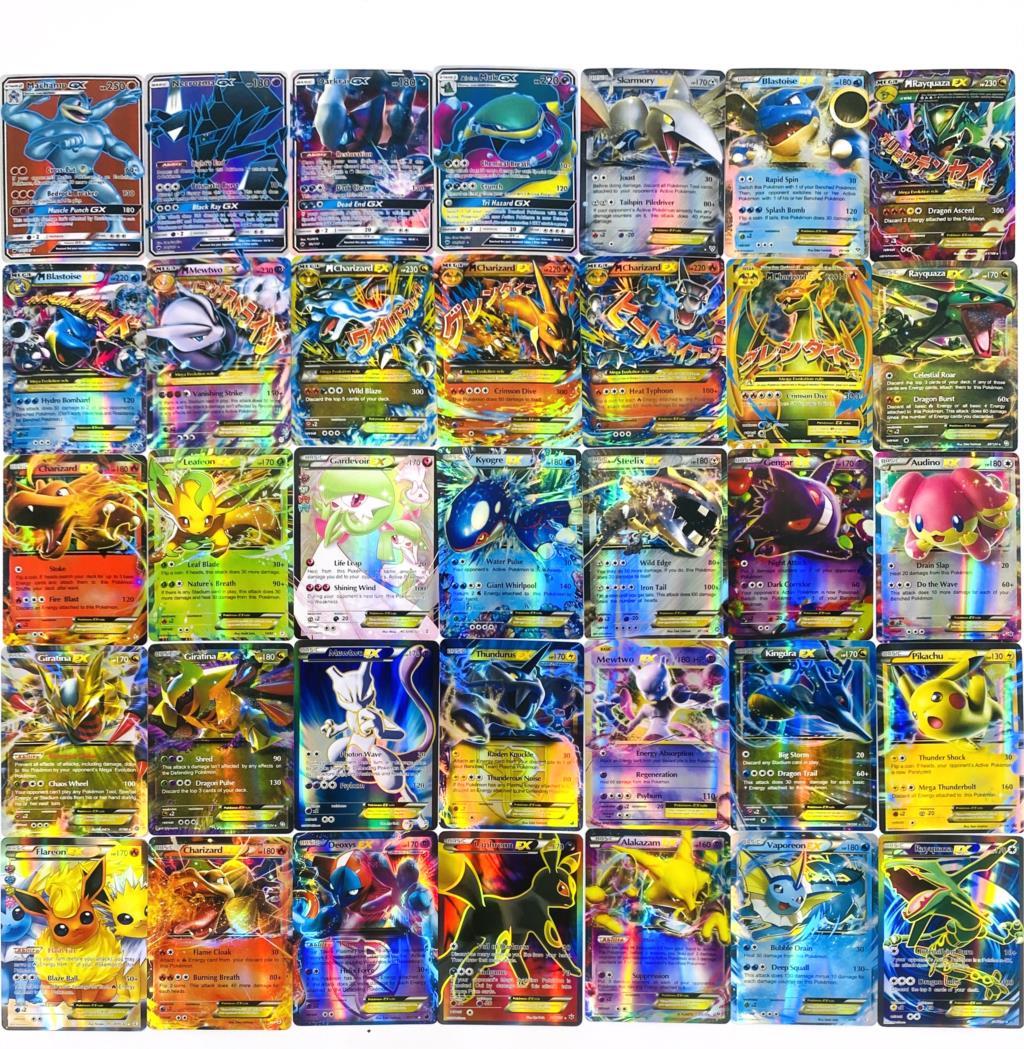 300pcs-pokemon-toy-gx-non-ripetere-brillanti-carte-inglesi-gioco-battle-carte-trading-bambini-pokemon-giocattoli-di-carte-francesi