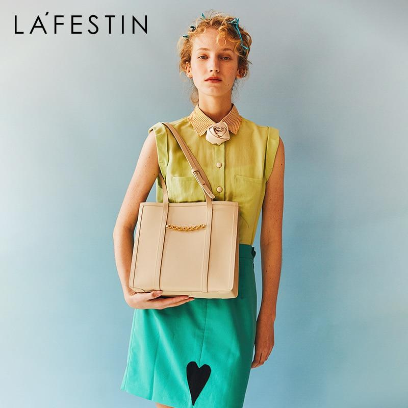 LA FESTIN Designer 2020 New large-capacity handbag fashion shoulder bag 2021New women's hand-held le