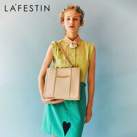 LA FESTIN Designer 2020 New large-capacity handbag fashion shoulder bag 2021New women\'s hand-held leather handbags for women