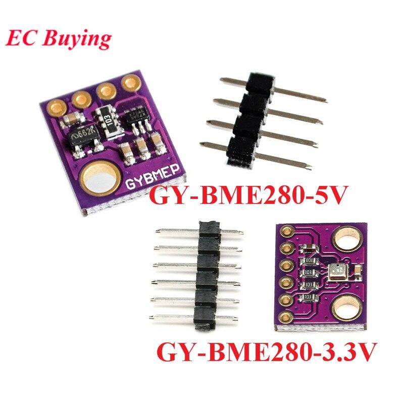 GY-BME280-3,3 V GY-BME280-5V 5V 3,3 V BME280 BMP280 Digitale Temperatur Feuchtigkeit Luftdruck Sensor Modul IIC I2C SPI