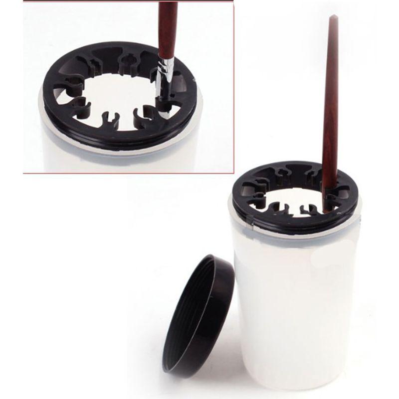 Miniatures Coloring Nylon Brush Hook Line Pen Cleaning Bottle Models Hobby Paint