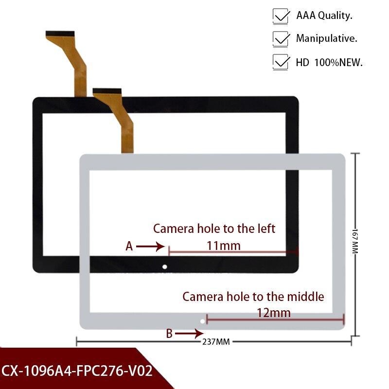 Novo 10.1 inch inch polegadas toque para bdf tablet mtk 6580 quad core tela de toque panle dh/CH-1096A1 fpc276 v02 dh/CH-1096A4-PG-FPC308-V01