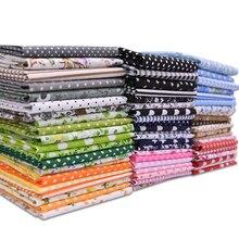 7 шт., Смешанная швейная ткань, хлопковая ткань с принтом для рукоделия, шитье, пэтчворк, ручная работа, материал, товары для дома