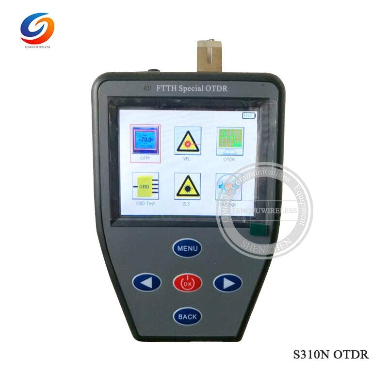 Handheld mini S310N OTDR with Optical power meter +Red light source + stable light source Multifunction Fiber tester