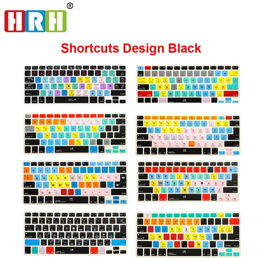 HRH-funda de teclado para Macbook Pro Air Retina 13, 15, 17, antes...