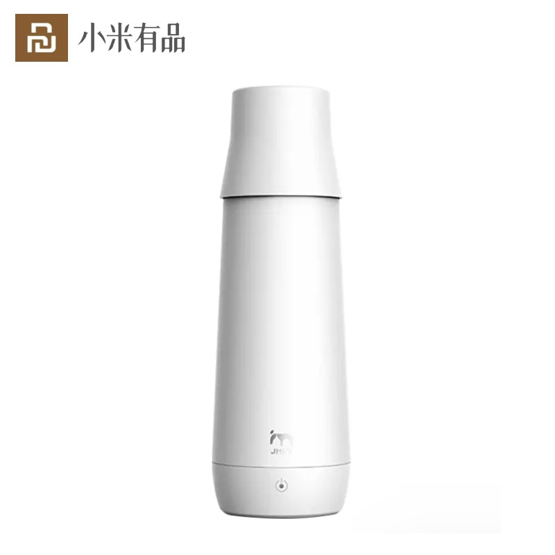 Youpin JMEY Smart Thermos Bottle Water Electric Heating Cup Portable Insulation Mug Car Electric Cup Travel Kettle Water Heater