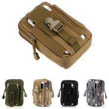 Molle Nylon Fanny Pack militaire armée tactique poche extérieure taille ceinture sac universel tactique téléphone pochette tactique équipement camouflage