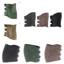 1pc Tactical Pistol Rubber Grip Glove Cover Anti Slip Handgun Sleeve Glock Holster Handle Hunting Accessories