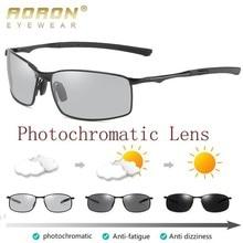 AORON Polarized Photochromic Sunglasses Men Transition Lens Driving men Sunglasses Driver Safty Gogg