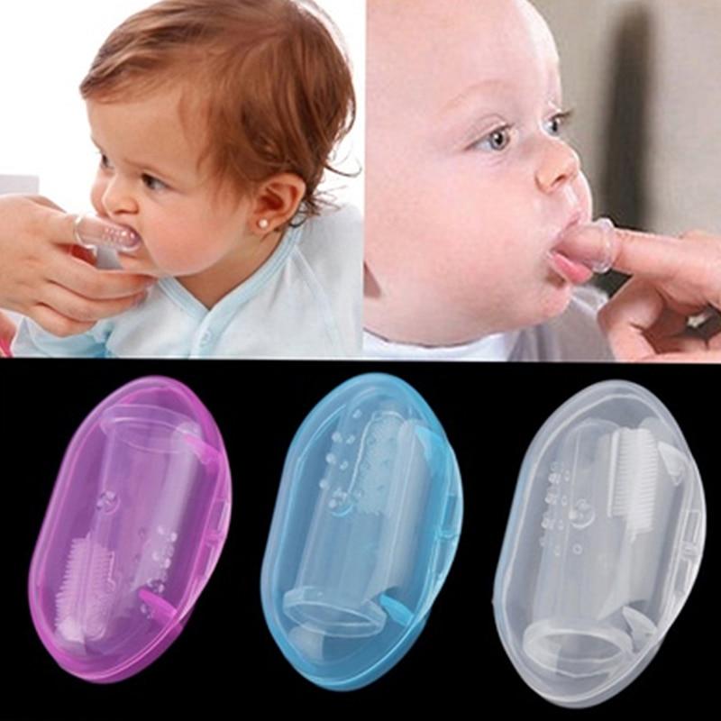 Lollipop bebê decídua escova de dentes língua mais limpa criança língua raspador cleaner cuidados com o bebê natal presente dos miúdos do bebê
