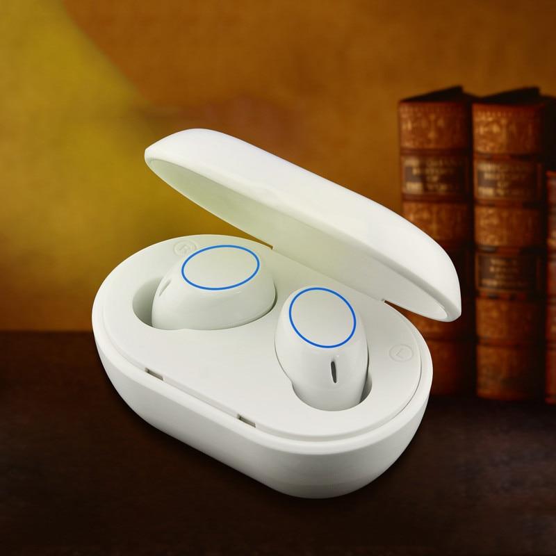 Auriculares TWS A2, inalámbricos por Bluetooth, auriculares a prueba de agua pequeños...