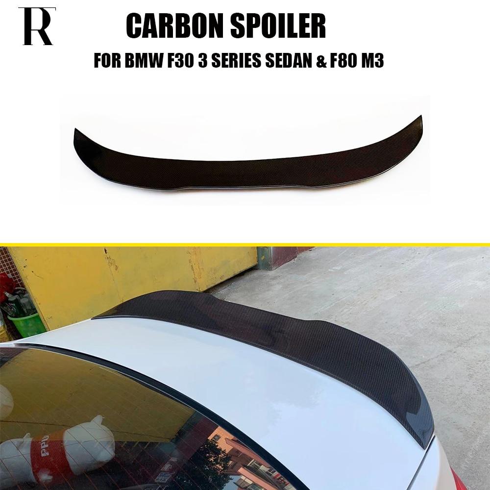 Задний спойлер F80 F30 из углеродного волокна PSM Style для BMW F80 M3 & F30 Sedan 316 318 320 328 330 335 340 2012-2019