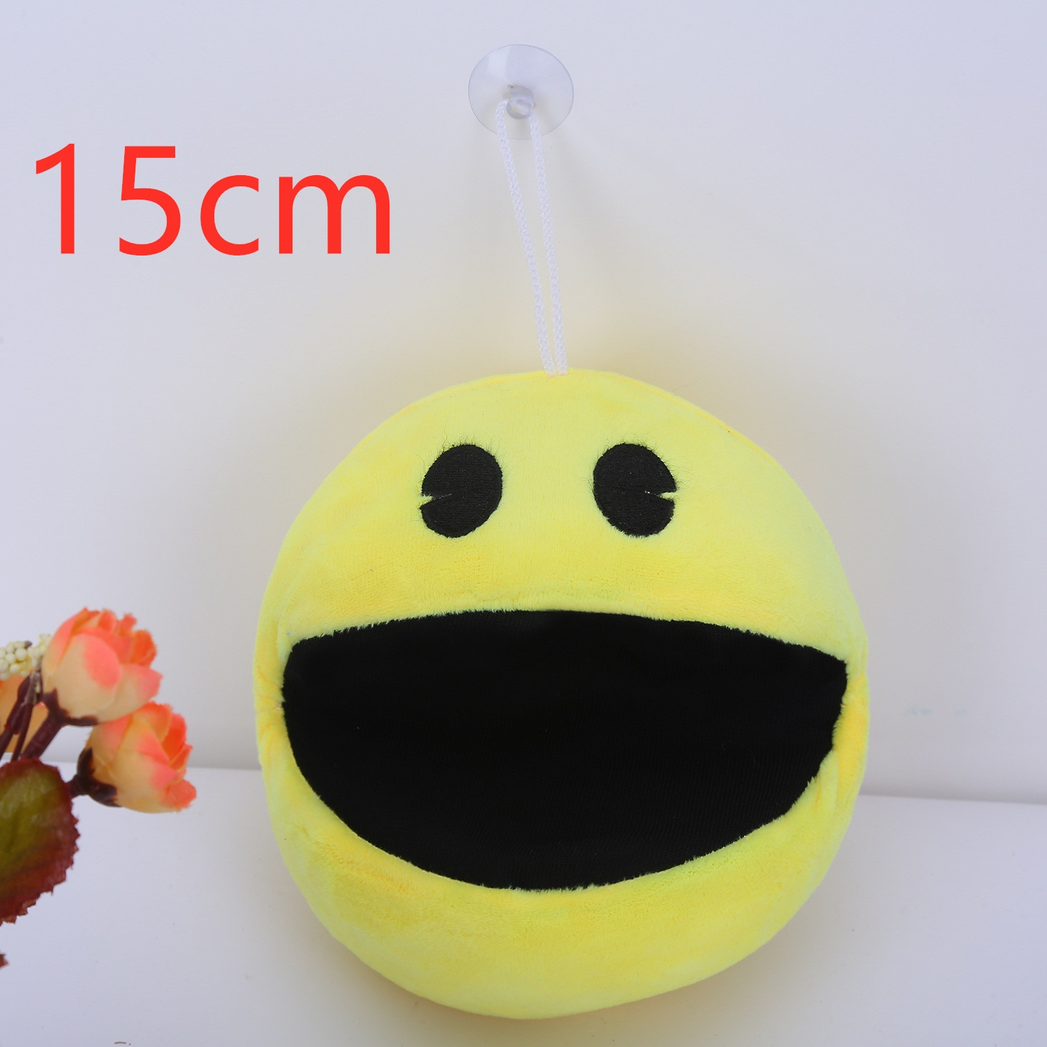 Party Kids PIXELS Movie Pacman Stuffed Toy Doll And Pac Man Pac-man Smiling face Plush Toys bert Christmas gifts Decorations