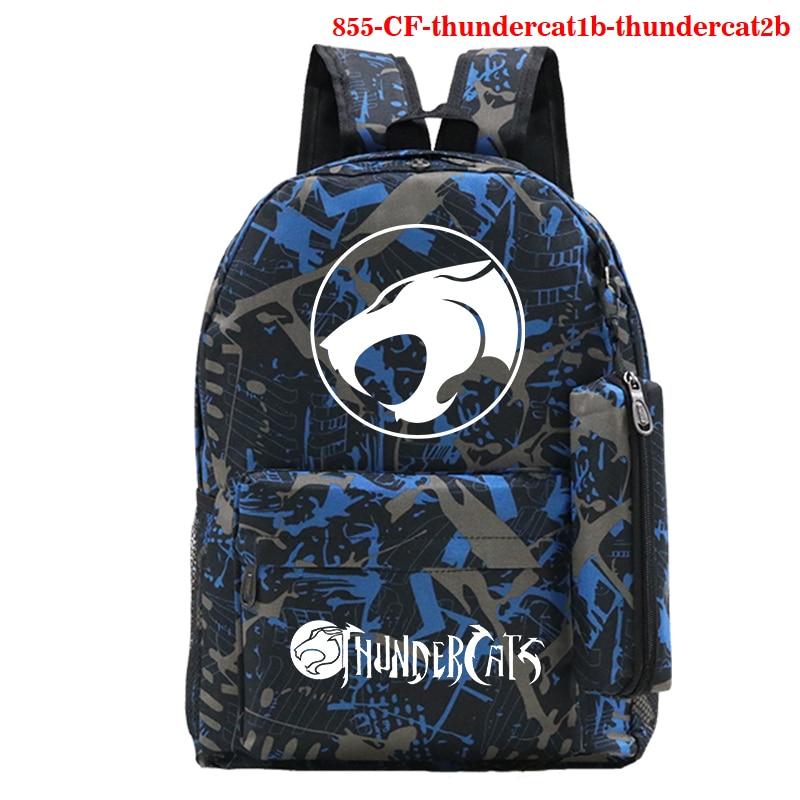 Thundercat Girls Boys Backpack Rucksack Teenagers School Femme Women's Men School Bag Thundercat Funny Cartoon Backpacks Bags недорого