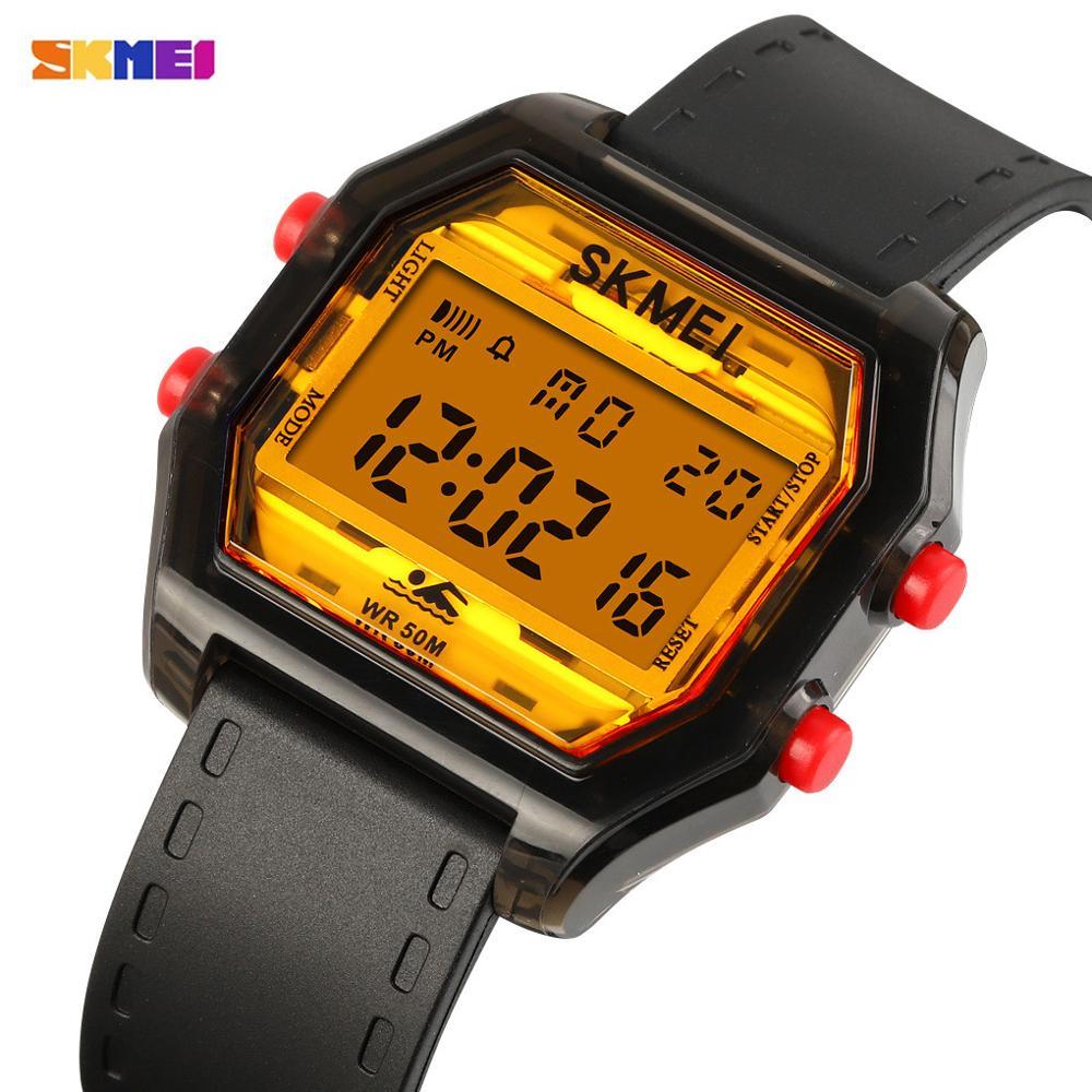 SKMEI Japan Digital movement Military Luminous Sports Watches 5Bar Waterproof Men Wrist Watch Relogio Masculino male Clock 1623
