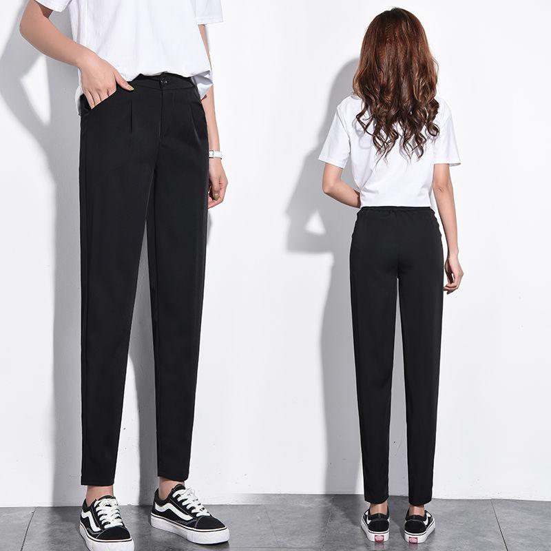 Спортивные брюки, женские повседневные удобные джоггеры, женские брюки, женские свободные повседневные широкие брюки, брюки с завышенной т...