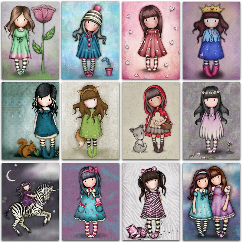 square mosaic icons diamond diy painting by numbers embroidery 3d diamond paintings full beauty butterfly flower girl 5D DIY Diamond Painting Cartoon Girl princess Home Decor Full Square&Round Diamond embroidery Cross stitch Diamond mosaic Paint