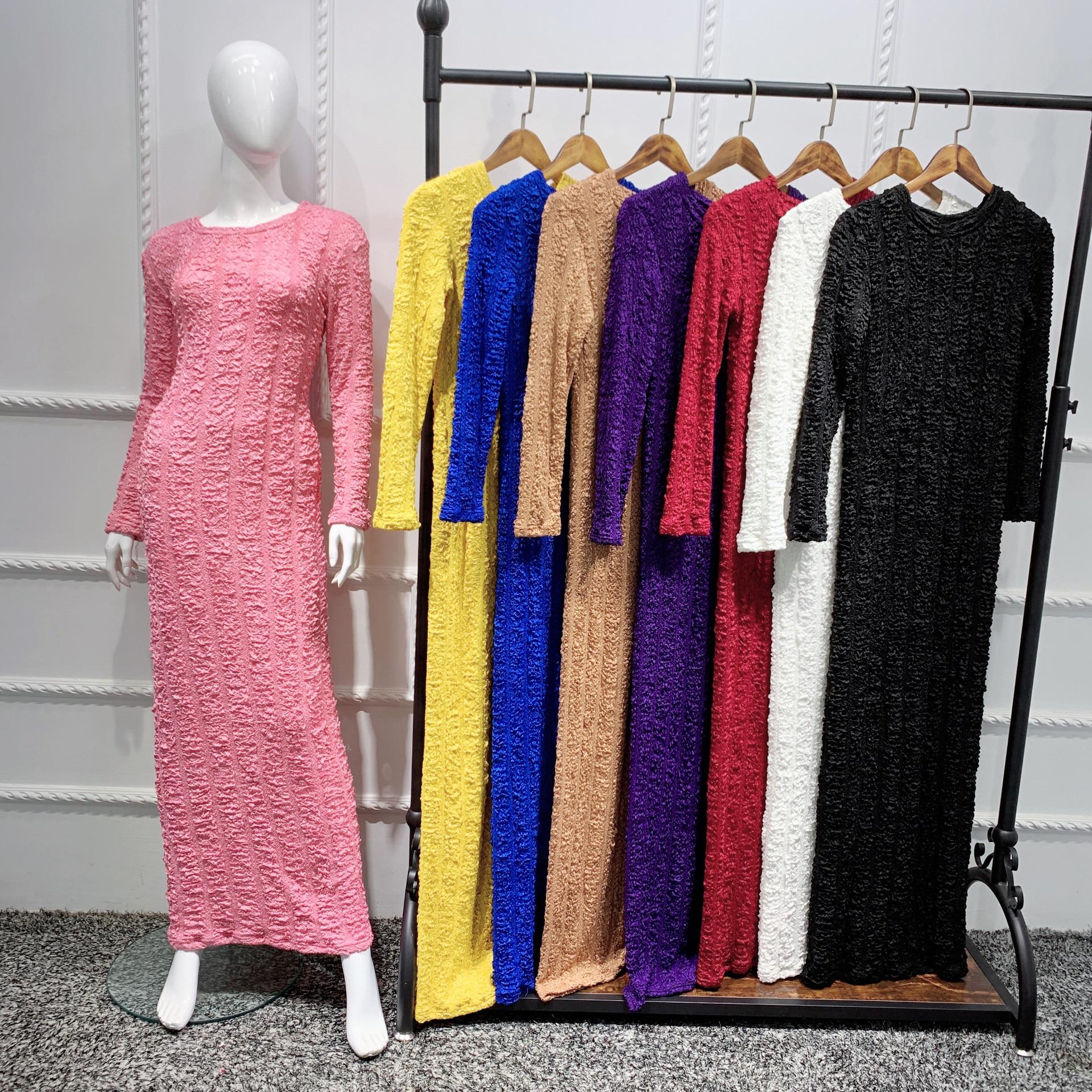 Eid Mubarak Kaftan Dubai Abaya Muslim Hijab Dress Turkey Turkish Islam Clothing Dresses Abayas For Women Robe Longue Vestidos