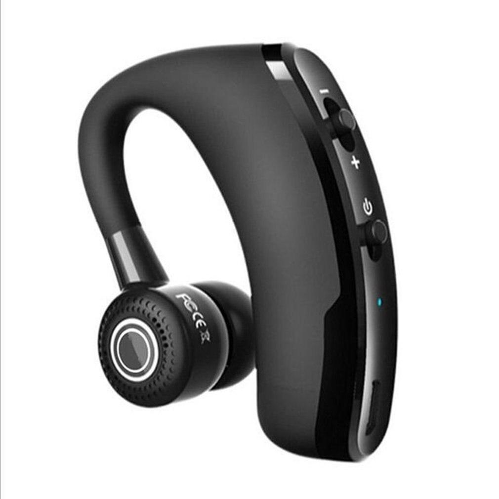 Auriculares V9 de negocios con reducción de ruido de identificación de llamadas estéreo, auriculares inalámbricos portátiles para escuchar canciones