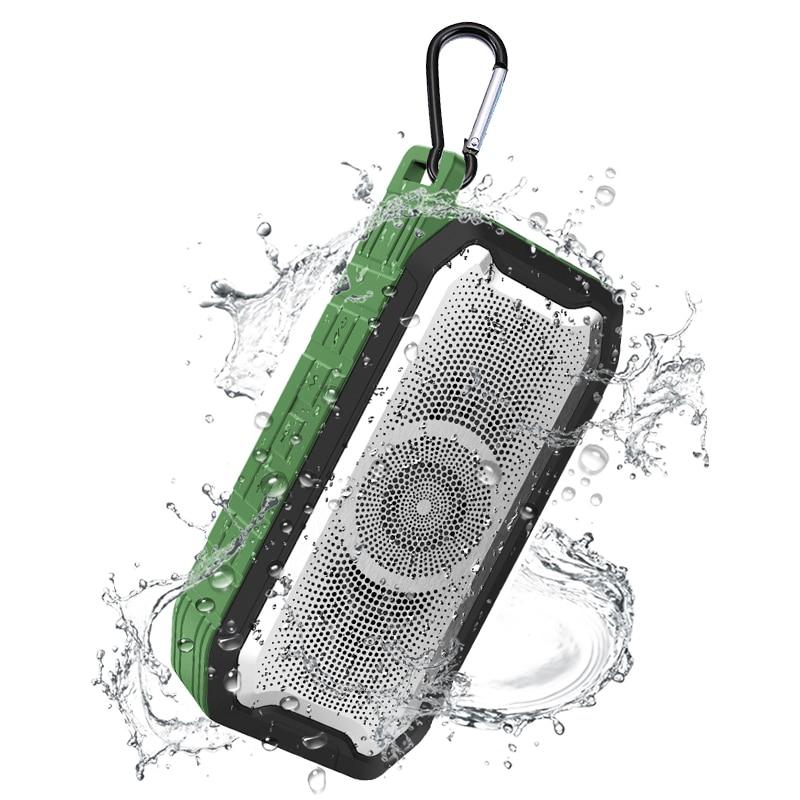 Altavoz portátil Bluetooth bajo Subwoofer altavoces impermeables exteriores Fm Radio AUX TF...