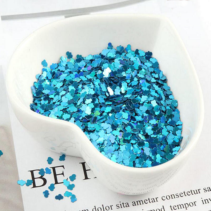 DIY Kawaii Cloud Glitter Sequins Holographic UV Resin Jewelry Fillings Stuff Nail Art Accessories Slime Decor Handmade Craft