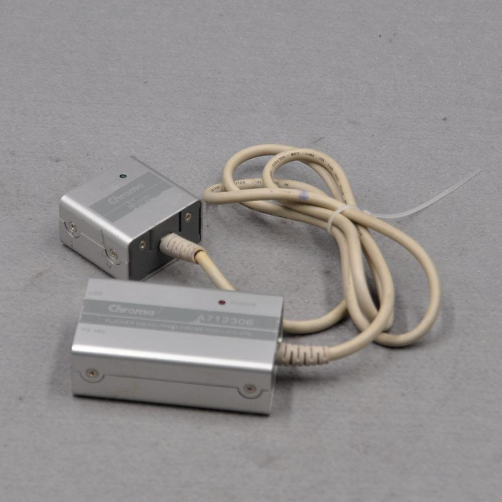 Chroma A7123606 RS-485 LCM-ATS flicker measuring probe with sensor