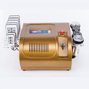 Sistema de cavitación al vacío seguro levantamiento de la piel eliminación de grasa Bipolar máquina de cavitación RF adelgazamiento corporal