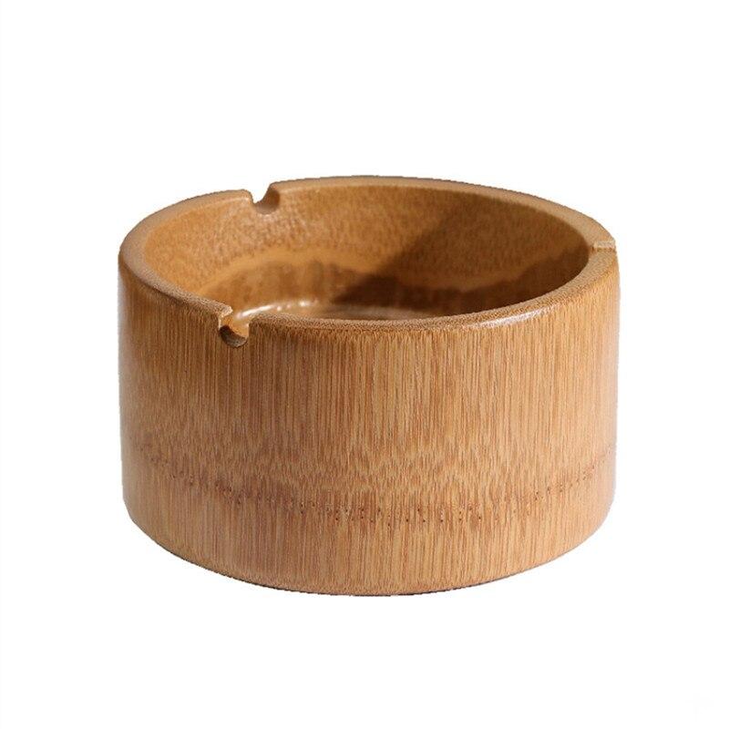 2 pièces/ensemble cendrier en bambou fumant cendrier dhôtel égaré cendrier de bureau
