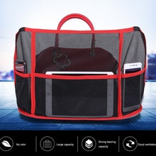 Car Net Pocket Handbag Holder,auto Car Mesh Organizer Between Seats, Pets Kids Barrier,Automotive