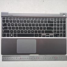 UNS/Russische backlit neue laptop tastatur mit touchpad pamrest für SAMSUNG NP700Z5A 700Z5B NP700Z5B BA75-03636A
