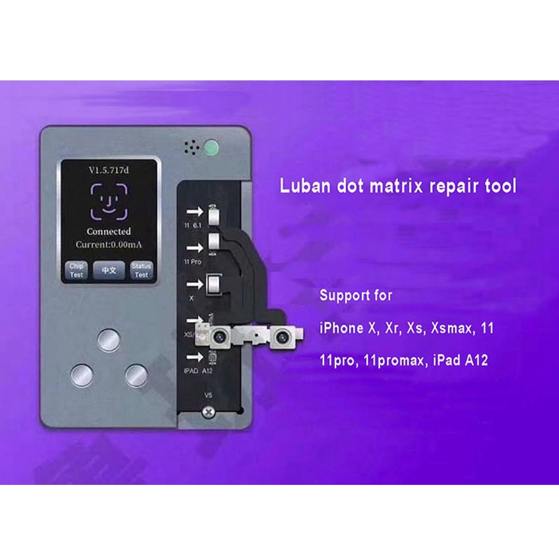 LuBan iFace Pro Dot Projector Programmer Dot Matrix Face ID Repair For iPhone 11 11Pro MAX X XS XR XSMAX Face Diagnosis Repair enlarge
