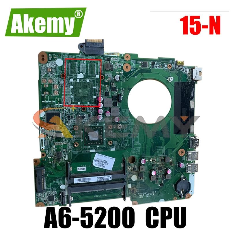 790630-601 متوافقة مع HP Pavillion 15-N DA0U93MB6D2 790630-501 AM5200 حاسوب محمول لوحة أم اختبار كامل 100% عمل