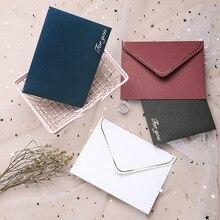 4 Uds. Sobres clásicos de papel blanco y negro para ventana sobres de boda sobre de invitación bolsas de embalaje para suministros de letras de negocios