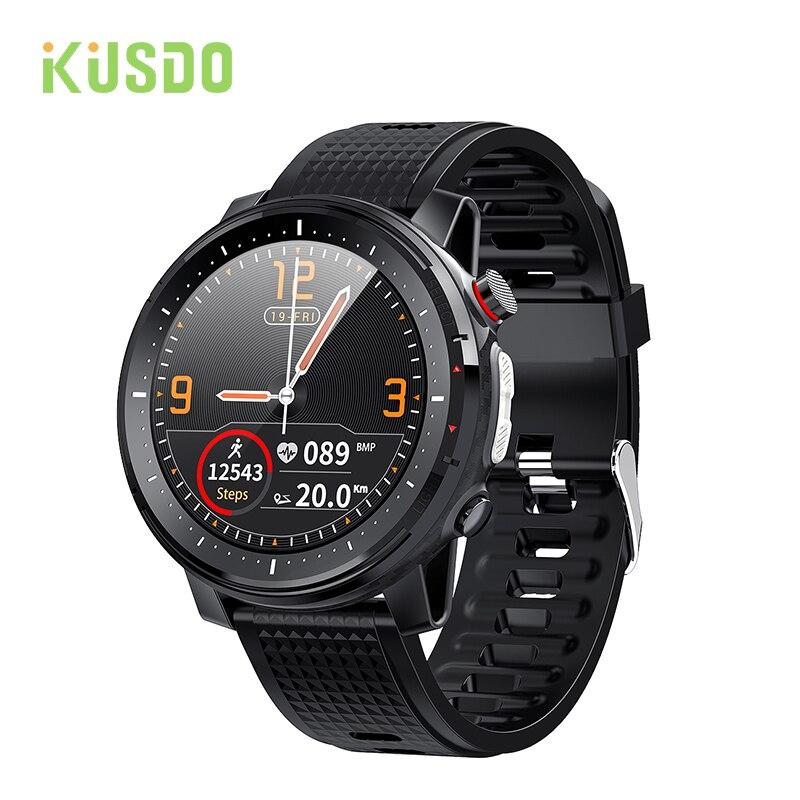 KUSDO 2021 Smart Watch ECG Smartwatch IP68 Waterproof Men Women Sport Fitness Bracelet Clock For And