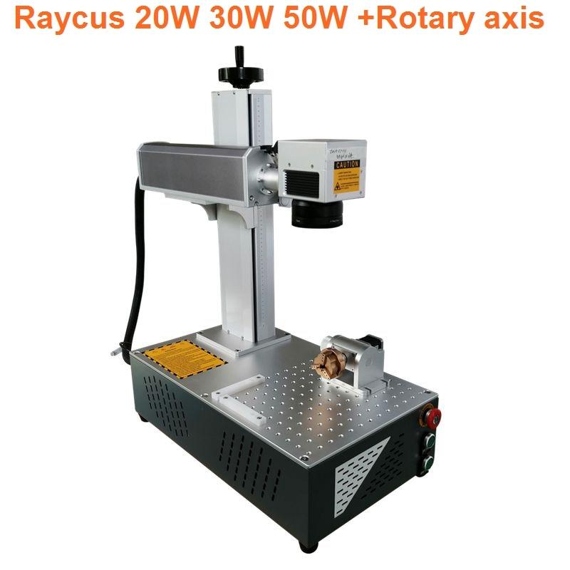 High precise 20W 30W  laser marking machine for printing circuit board mobile phone shell fiber laser engraver diy laser engrave