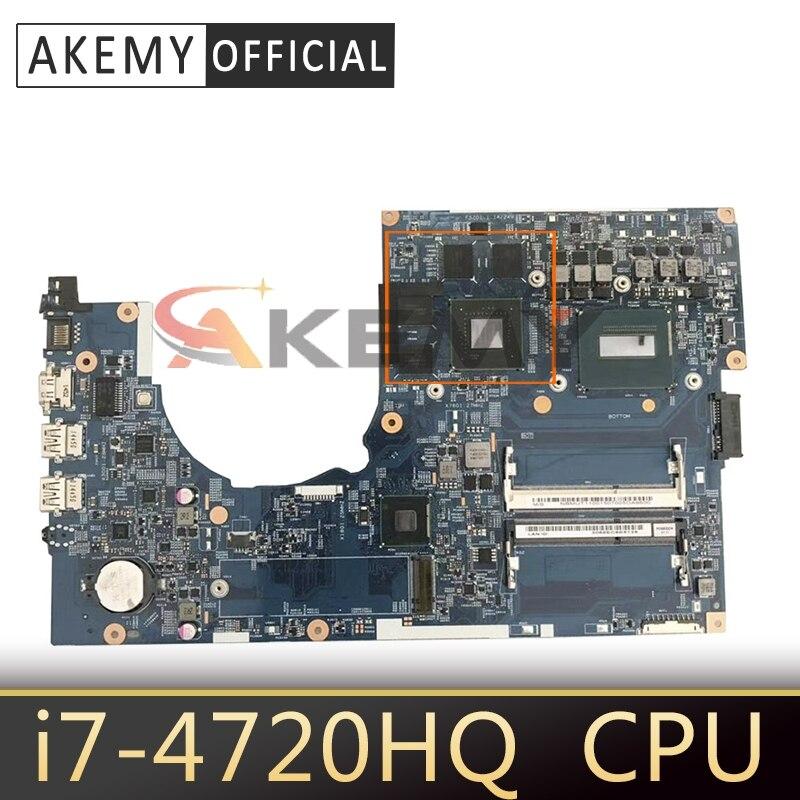 Akemy ordenador portátil placa madre para ACER Aspire VN7-791 i7-4720HQ placa base...