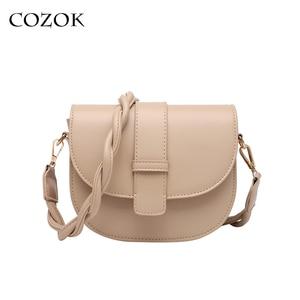Crossbody Bags For Women 2021 Luxury Brand Semicircle Saddle Bags Leather Handbags Bags Designer Ladies Shoulder Bags