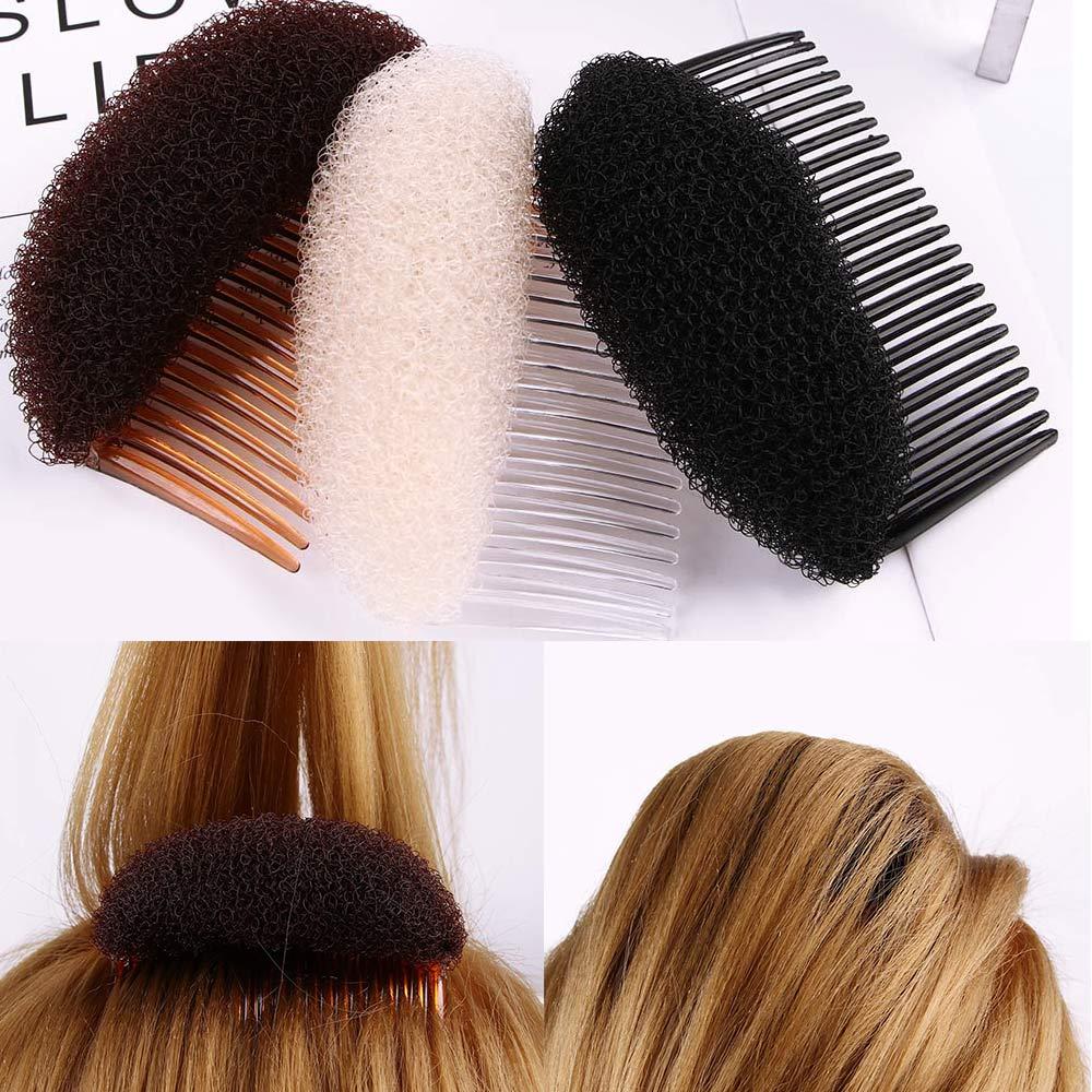 1Pc Women's Girl Amazing Twist Hair Styling Clip Stick Bun Maker Braid Tool Lady Hair Accessories Elegant Hair Device Hair Clips
