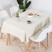 Toalha de mesa à prova de óleo impermeável toalha de mesa quadrado nórdico festa de aniversário capa de mesa retângulo pano de mesa limpar cobre