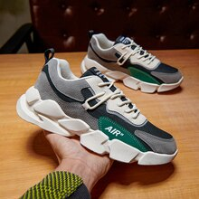 Rubber Platform Men Running Jogging Sports Shoes For Male Size 39-44 Zapatillas Hombre Fashion Train