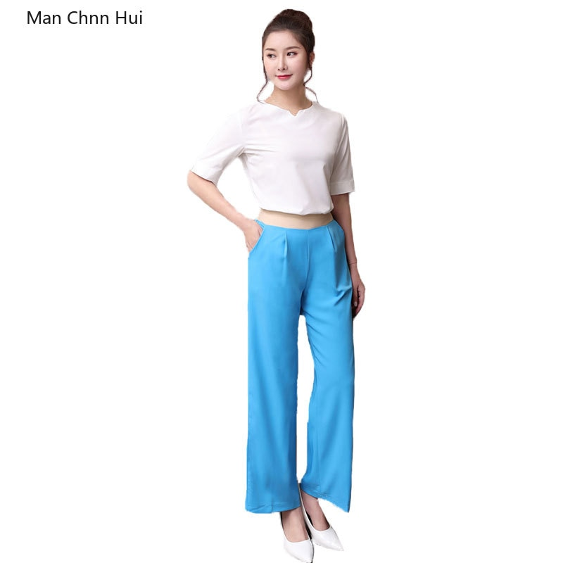 Uniforme de belleza de manga corta azul para verano, uniforme de salón de belleza tailandés, ropa de trabajo para spa de cosmetólogo, ropa de baño para pies para mujer, sauna