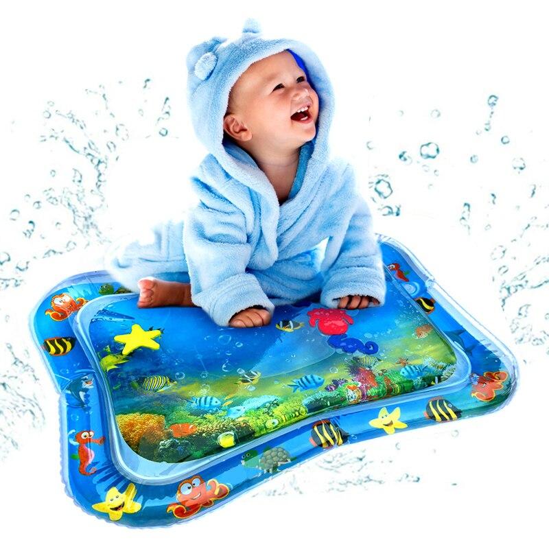 Alfombra inflable para juegos de agua para bebés, alfombra inflable para juegos de niños y bebés, Alfombra de agua para niños y bebés, alfombra inflable divertida