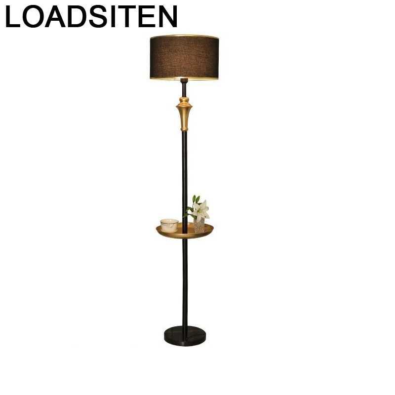 Lámpara De Pie Para salón, lámpara moderna Para Sala De estar, Luz...