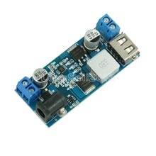 DC-DC 24V/12V To 5V 5A Step Down Power Supply Buck Converter Replace LM2596S Adjustable USB Step-dow