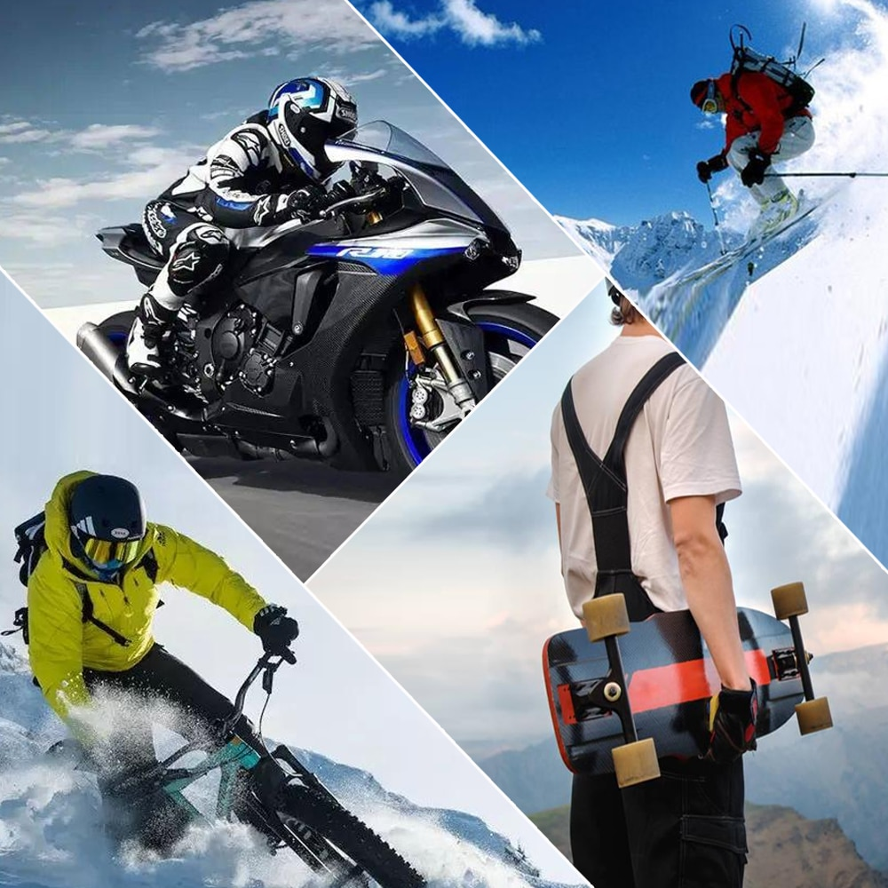 Motorcycle Full Finger Touch Screen Gloves Non-Slip Breathable Flexible Bicycle Riding Cycling Carbon Fiber Gloves For Men Women enlarge