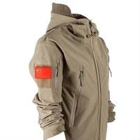 mens jacket military tactical jacket mens waterproof warm windbreaker u s military uniform winter large size mens camouflage