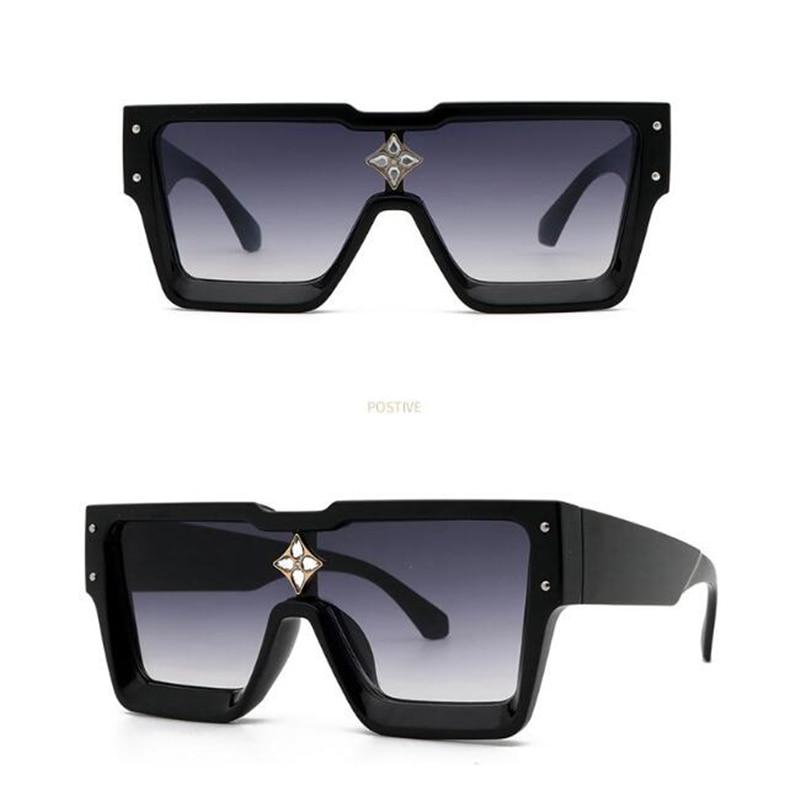 نظارات شمسية صيفية جديدة موديل 2021 للنساء بإطار مربع للبيع بالجملة بسعر منخفض