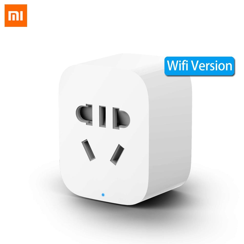 Xiaomi Mi Mijia WiFi Smart Socket Plug WiFi Version Wireless Remote Control Sockets Adaptor Power On And Off With Phone