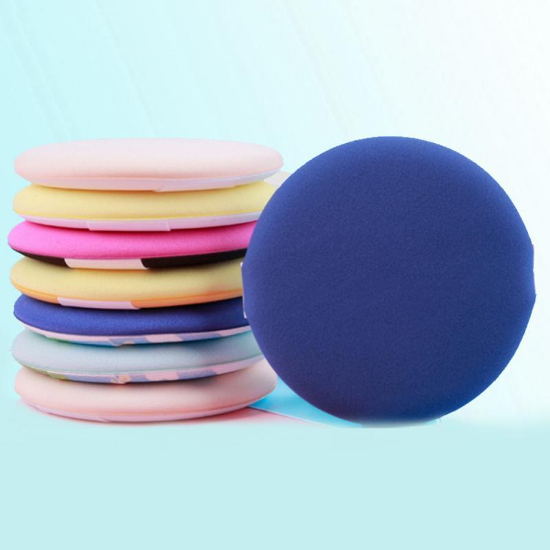 Esponja para base de maquillaje suave esponja cosmética para polvos herramientas de maquillaje accesorios maquillaje Color al azar maquillaje corrector portátil
