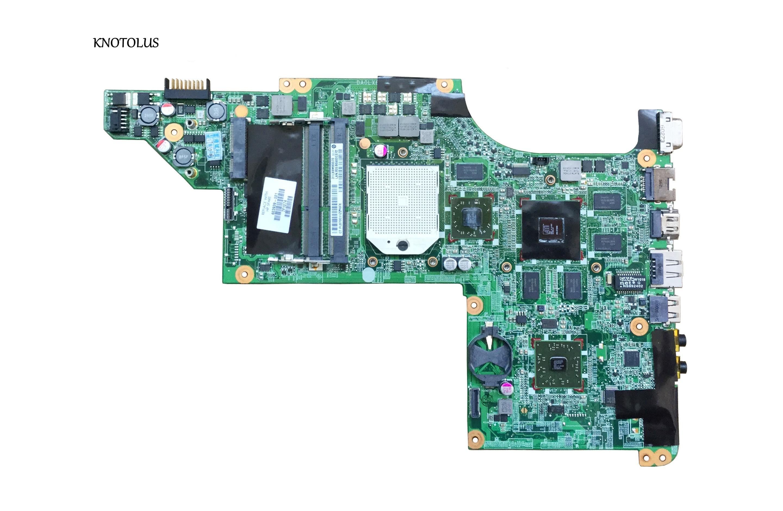 Placa base de ordenador portátil de alta calidad para HP DV6 DV6-3000 series 603939-001 movilidad adeon HD 5650 DDR3 placa base daolx8mb6d1